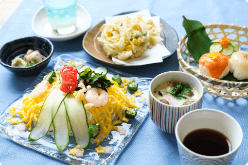 季節のお食事(七夕)