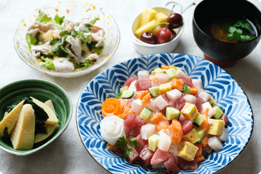 季節のお食事(節句)